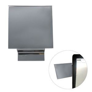 "Acrylic Computer Monitor Mirror for thin monitor mount (4"" Square)"