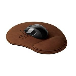 Leatherette Mouse Pad - Dark Brown