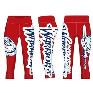 Fully Sublimated Youth compression pants / rash guards